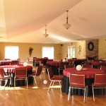 banquet hall seats upto 160 guests