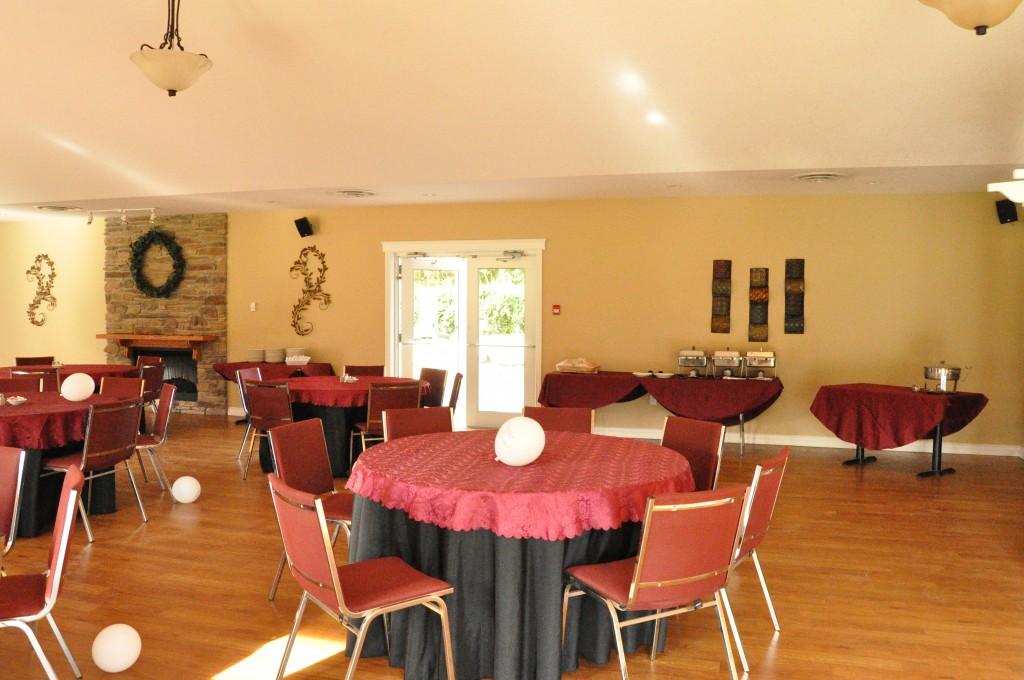 golf course banquet hall, naquet hall port stanley